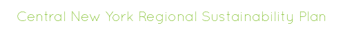 Central New York Regional Sustainability Plan
